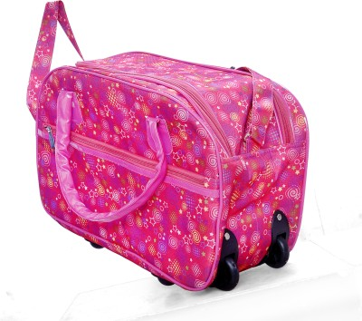 One Up DB99000 20 inch/50 cm (Expandable) Travel Duffel Bag(Pink)