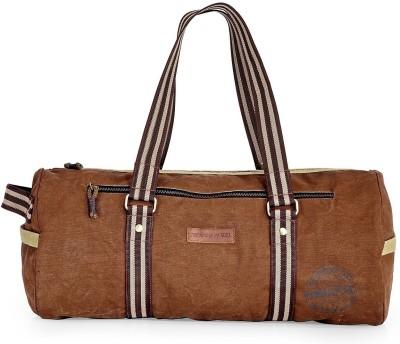The House of Tara Gym Weekender Travel Duffel Bag(Brown)
