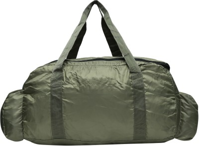 Gear FOLDABLE DUFFEL (Expandable) Travel Duffel Bag(OLIVE, GREEN)