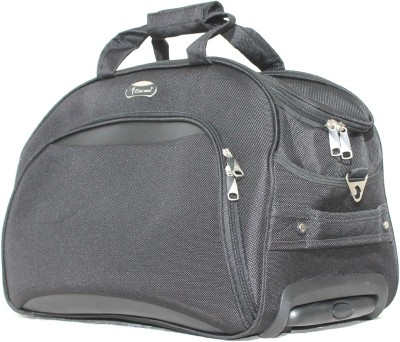 Encore Luggage Roller Duffel Duffel Strolley Bag(black)
