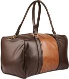 3G PU Travel Duffel Bag (Brown)