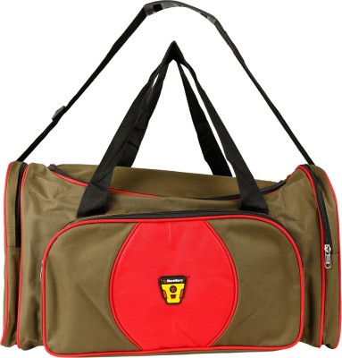 Daikon 4427GreenRed-TravelBag Travel Duffel Bag(Green, Red)
