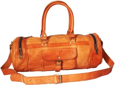 Goatter Leather Gym Bag 22 inch/55 cm