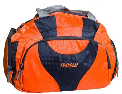 Travolic Duffles Bag Orange 17 inch/45 cm