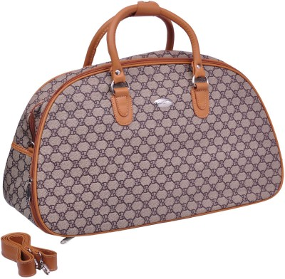 Kumud Brown Duffel Bag 20 Inch Small Travel Bag