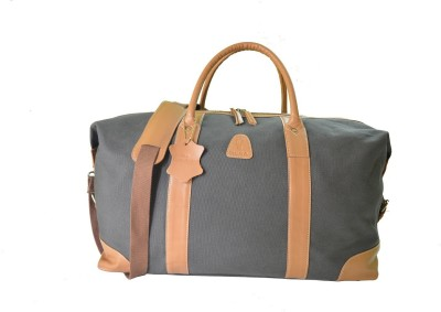 DERA DUFFEL BAG (Expandable) Travel Duffel Bag(DARK GRAY)