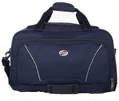 American Tourister Vision (Expandable) Duffel Strolley Bag(Blue)