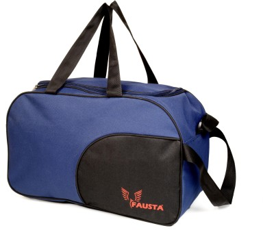 Fausta Duffle bag(blue with black) 20 inch/51 cm