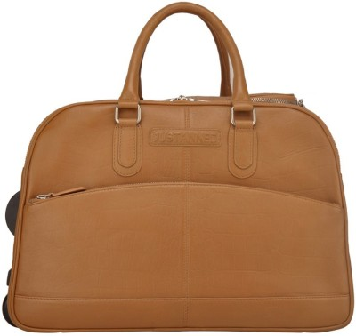 JUSTANNED Leather Duffel Bag 20 inch/52 cm