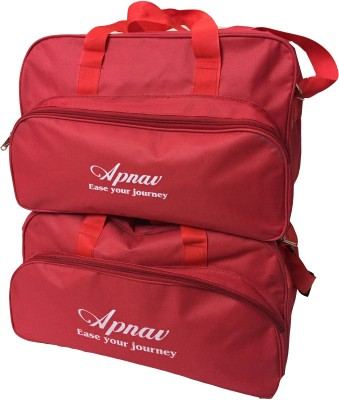 Apnav Travel Combo R 16 inch/40 cm Travel Duffel Bag(Red-09)
