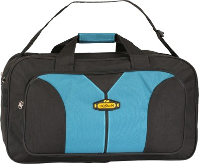 Daikon Fast line-BSB 20 inch/50 cm (Expandable) Travel Duffel Bag(Black, Skyblue)