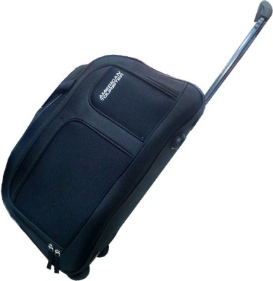 American Tourister AEGIS CORE 55 22 inch 57 cm Duffel Strolley Bag(Black) cbeaf4d356e0b