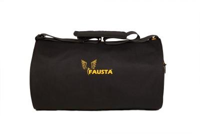 Fausta Black fitness bag 16 inch/43 cm
