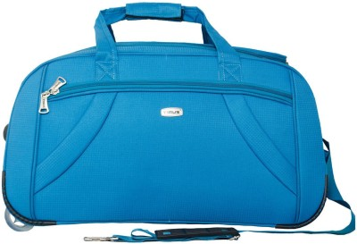 Timus CLUB MUMBAI DUFFLE TROLLEY Duffel Strolley Bag(Blue)