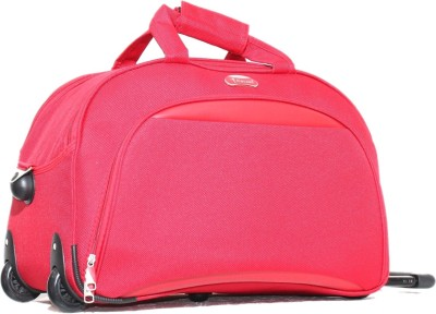 Encore Luggage Roller Duffel Duffel Strolley Bag(Red)