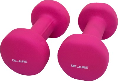 De Jure Fitness Imported Neoprene 4 Kgs Pair (Total 8 Kgs) Fixed Weight Dumbbell