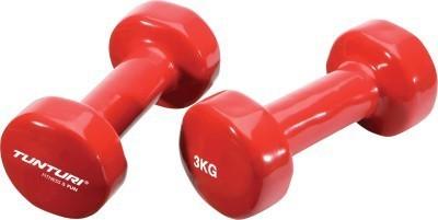 Tunturi tunturi vinyl dumbbells 3kg Red