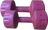 Swiss Pro PVC Fixed Weight Dumbbell (2 k...