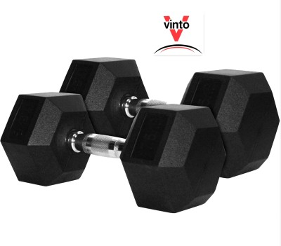Vinto Ultimate Power 4 kg Pair Hex Fixed Weight Dumbbell