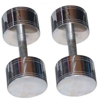 Vinto Steel Chrome Fixed Weight Dumbbell