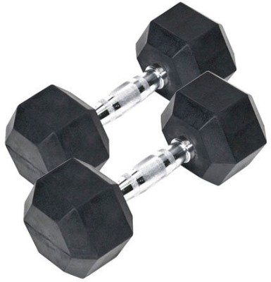 Indus. Hexagonal Fixed Weight Dumbbell