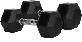 Shubhras Hex Fixed Weight Dumbbell