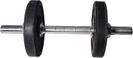 ROYAL 1kg_2pc_Hexagonal_black_plates_1pc_Silver_handle Adjustable Dumbbell