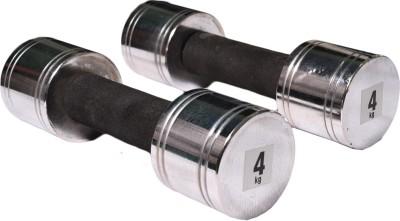 Royal 4kg_2pc_Chorme_silver_dumbbell Adjustable Dumbbell