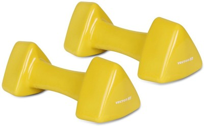 Vector X Pair of PVC Dumbbells (4KG+4KG) Fixed Weight Dumbbell