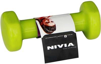 Nivia Vinyl Fixed Weight Dumbbell(1 kg)