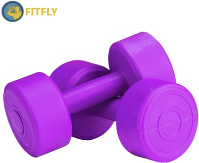 Fitfly pvc 4 kg Fixed Weight Dumbbell