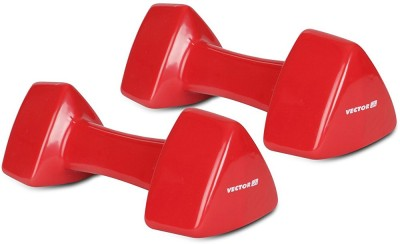 Vector X Pair of PVC Dumbbells (5KG+5KG) Fixed Weight Dumbbell