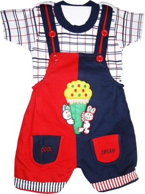 Icable Baby Boys Blue Dungaree