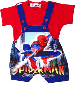 Xtrem Baby Boy's Blue, Red, White, Yellow Romper