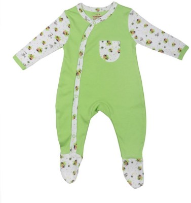 Morisons Baby Dreams Baby Boy's Light Green Romper