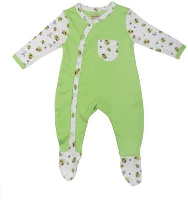 Morisons Baby Dreams Baby Boy's Light Green Romper