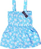 Caca Cina Romper For Girls Cotton (Blue)