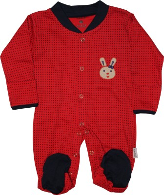 KidsRUs Baby Boys Red Romper