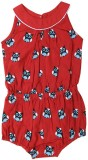 Earth Conscious Dungaree For Girls Print...