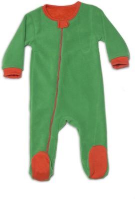 Nino Bambino Baby Boy's Green Romper