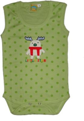 Baby Love Baby Boy's Green Romper