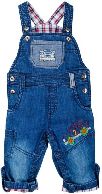 Mom & Me Baby Boy's Blue Dungaree
