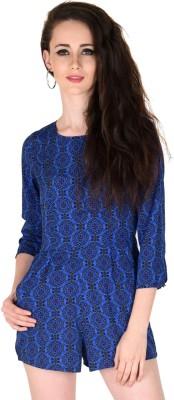 Sassafras Women's Blue Romper