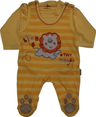 Child World Baby Boy's Orange Romper