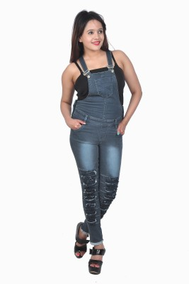 Nifty Women's Grey Dungaree
