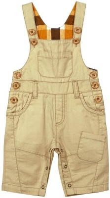 Mom & Me Dungaree For Boys(Beige)
