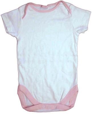 Cool Baby Baby Boy's White Romper