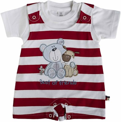 Toffyhouse Baby Boy's Red Romper