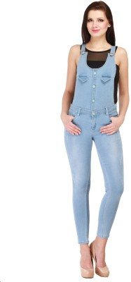 Cali Republic Womens Blue Dungaree