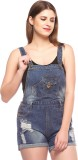 Fasnoya Women's Blue Dungaree